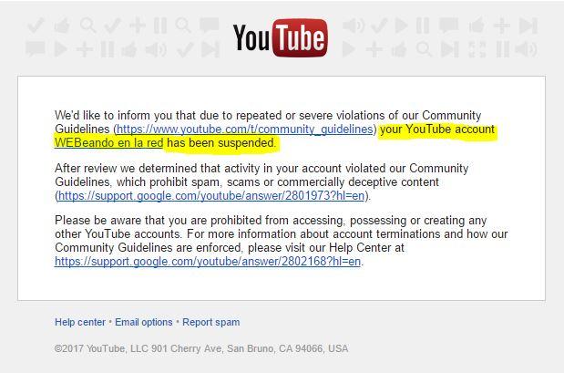 Monetizacion con YouTube