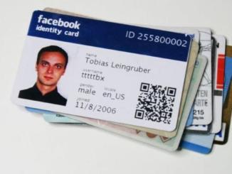 Crear un DNI para facebook