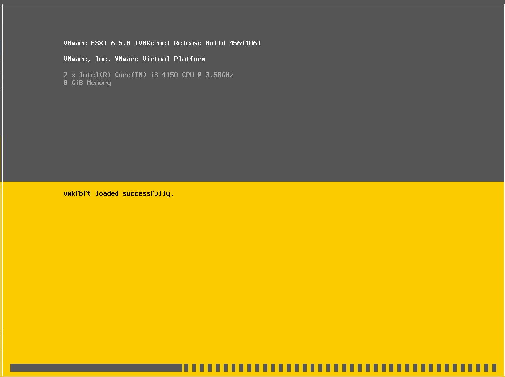 Instalação do VMware ESXi 6 5 - RODRIGO LIRA