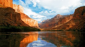 Rio Colorado, Arizona, Parque Nacional do Grand Canyon, EUA.