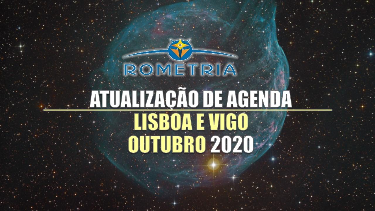 ATUALIZAÇÃO IMPORTANTE EM LISBOA E VIGO – OUTUBRO 2020