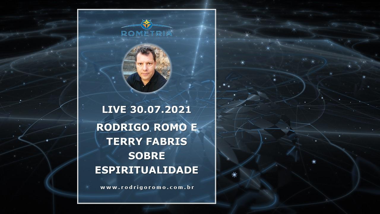 LIVE COM TERRY FABRIS SOBRE ENERGIA E ESPIRITUALIDADE