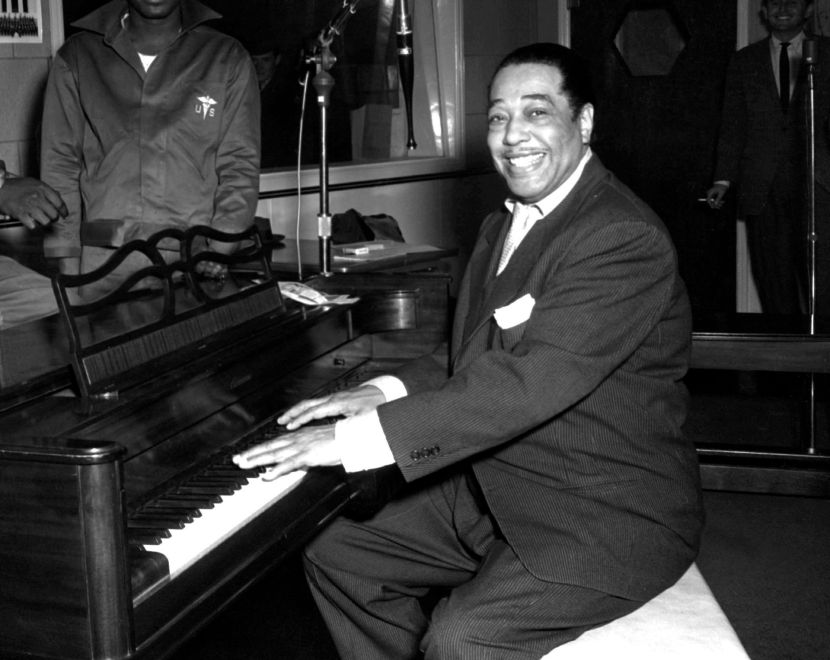 Duke Ellington and Rodrigo Sáenz