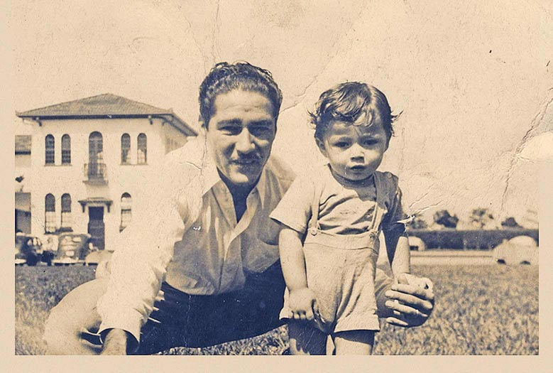 Rodrigo Sáenz & Dad