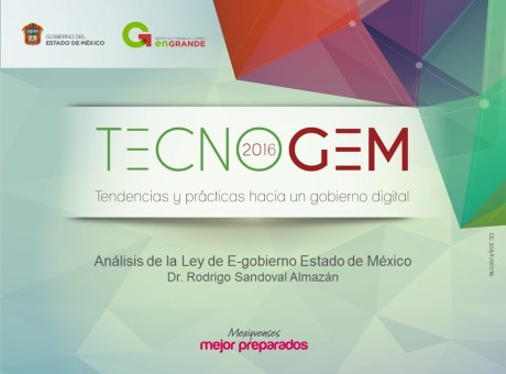 Presentacion en el TECNOGEM