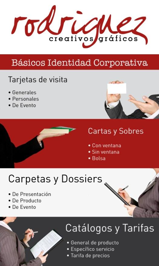 Identidad Corporativa Infografía - Rodríguez Creativos