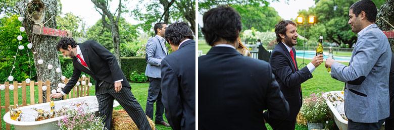 Ambientación de casamiento de Estancia Carabassa por Vicky Canale