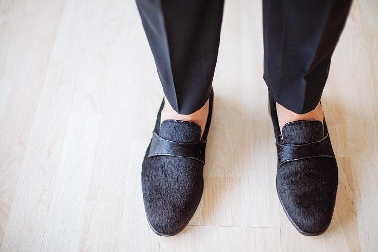 Zapatos de casamiento