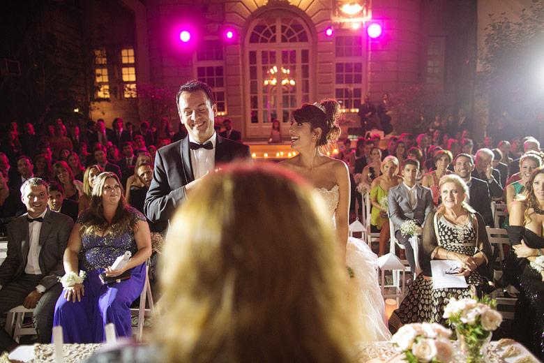 Ceremonia de casamiento diferente