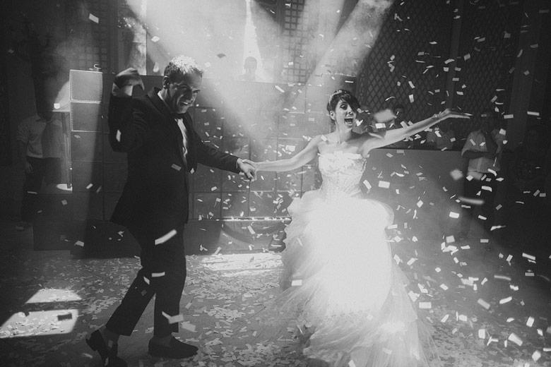 Entrada de novios boda