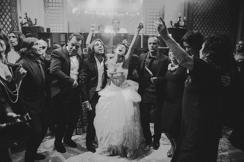 foto artistica de boda