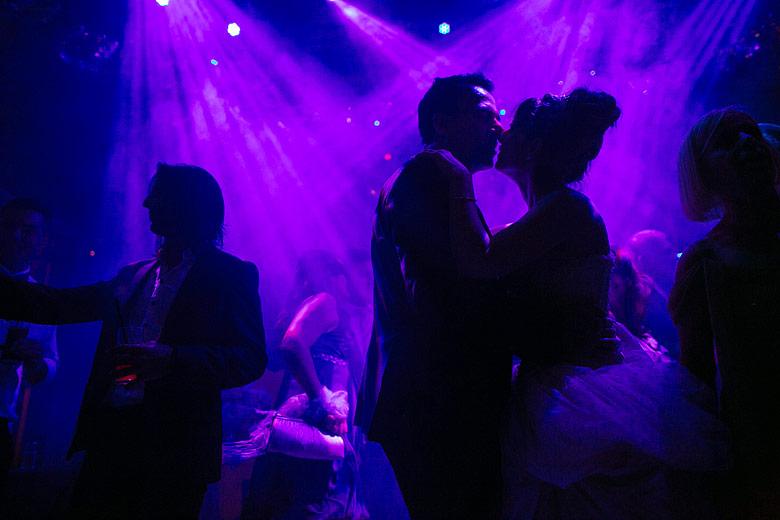 Foto experimental de bodas
