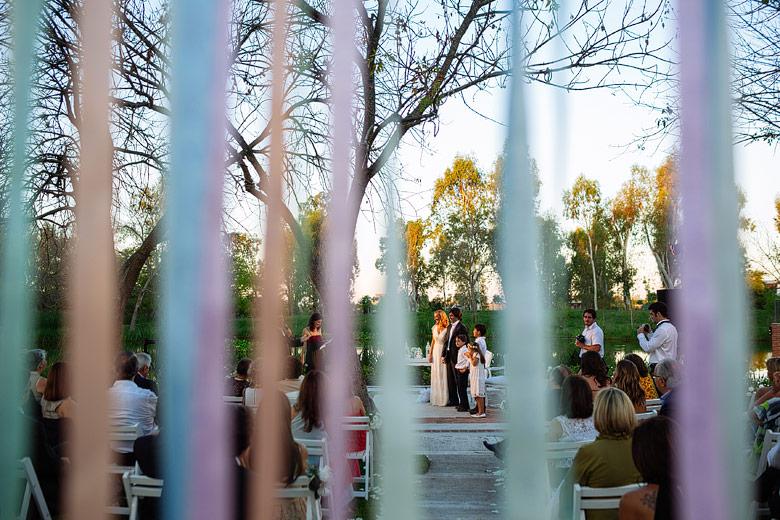fotos de casamientos al atardecer en astilleros milberg