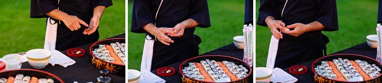 sushiman en casamiento