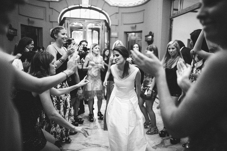 foto compleja de casamiento