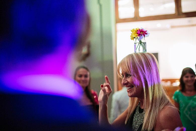 foto creativa de boda