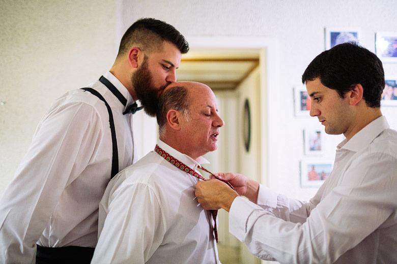 foto emotiva de boda