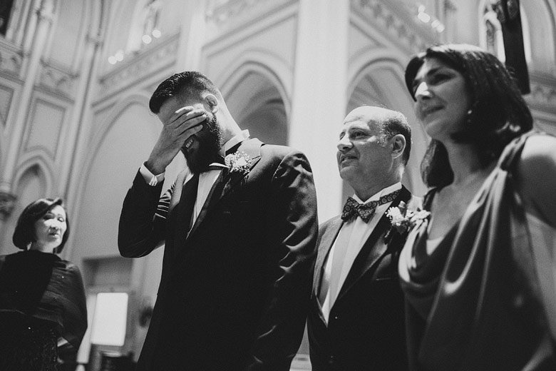 Casamiento en iglesia San Isidro