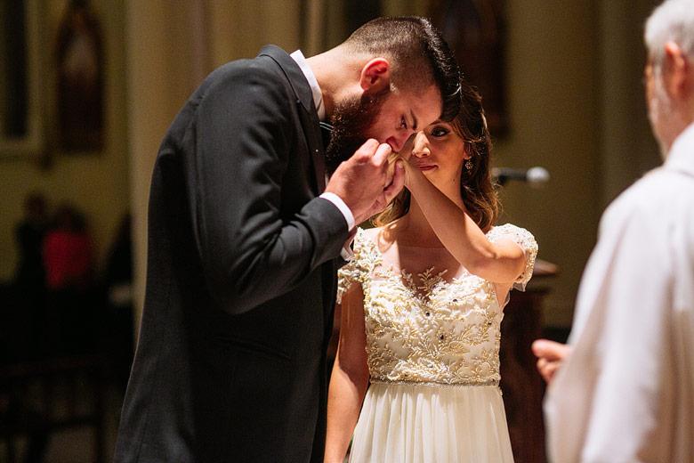 foto documental casamiento catedral de san isidro