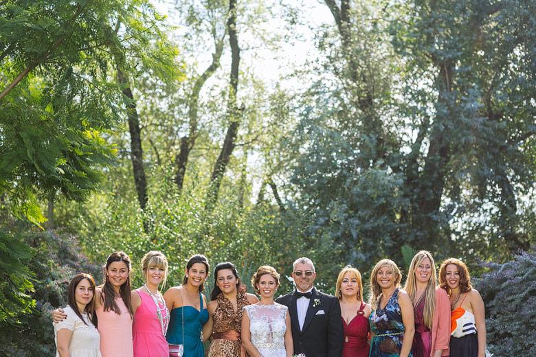 Foto de familia original casamiento