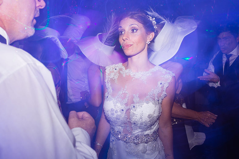 foto de casamiento espontanea