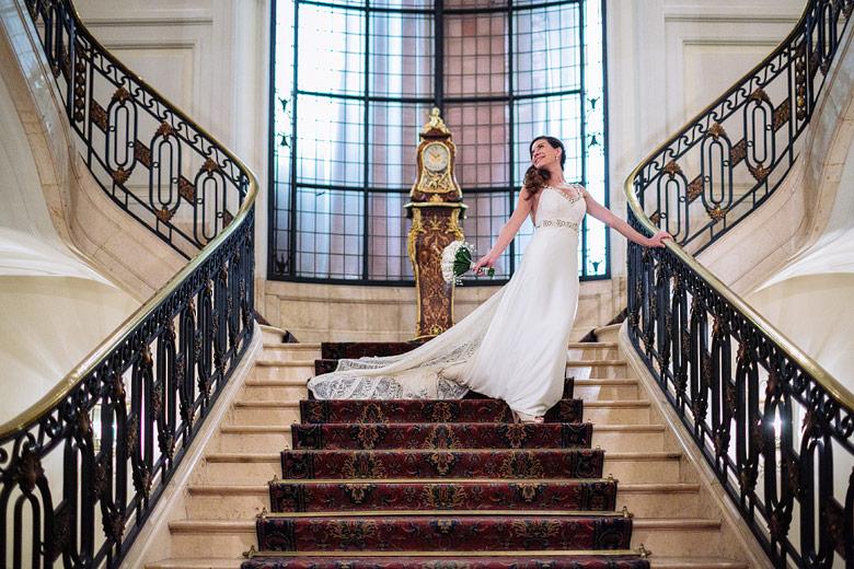vestido de novia diferente Sole Zimmer