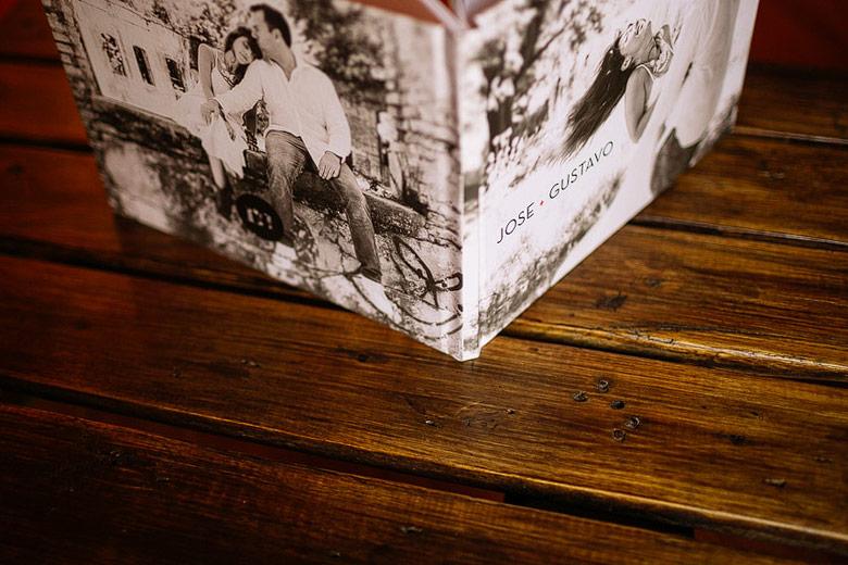 libro fotografico en offset para casamiento