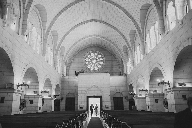 casamiento intimo en la iglesia santa elena
