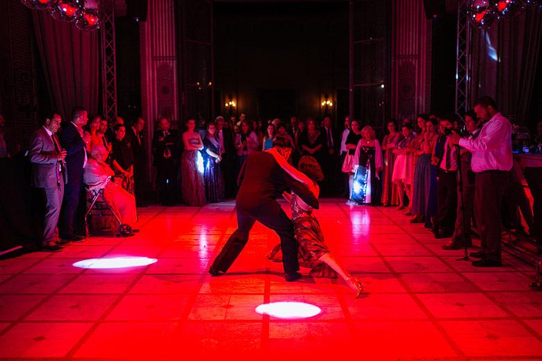 show de tango en casamiento