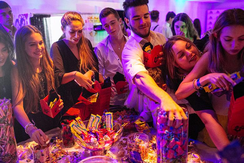 candy bar 15 años