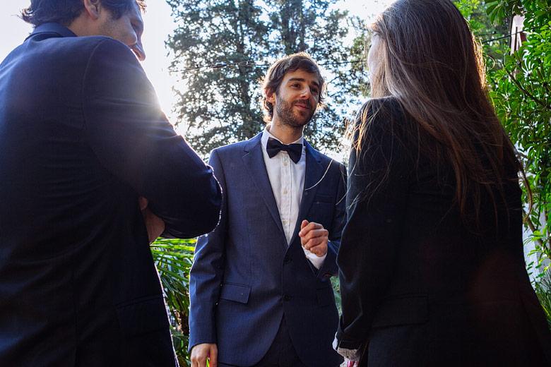 look original de novio en casamiento