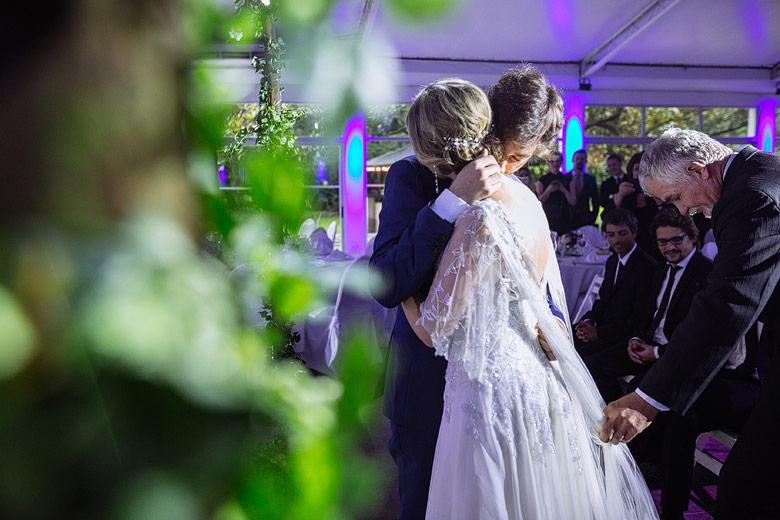 Casamiento de dia en hortensias del viso