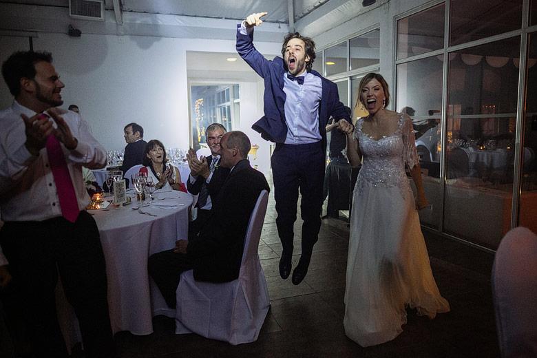 entrada de novios a casamiento