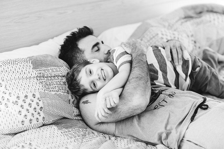 fotos emotivas de padre e hijo
