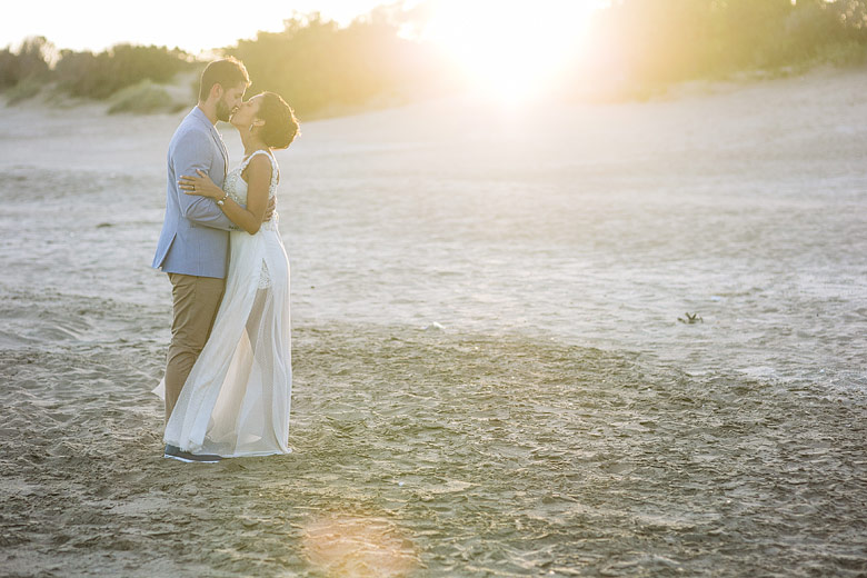 fotografo casamiento en la playa mar de las pampas