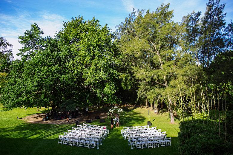ceremonia al aire libre en rincon de pilar