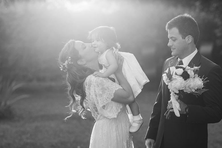 casamientos de parejas con hijos
