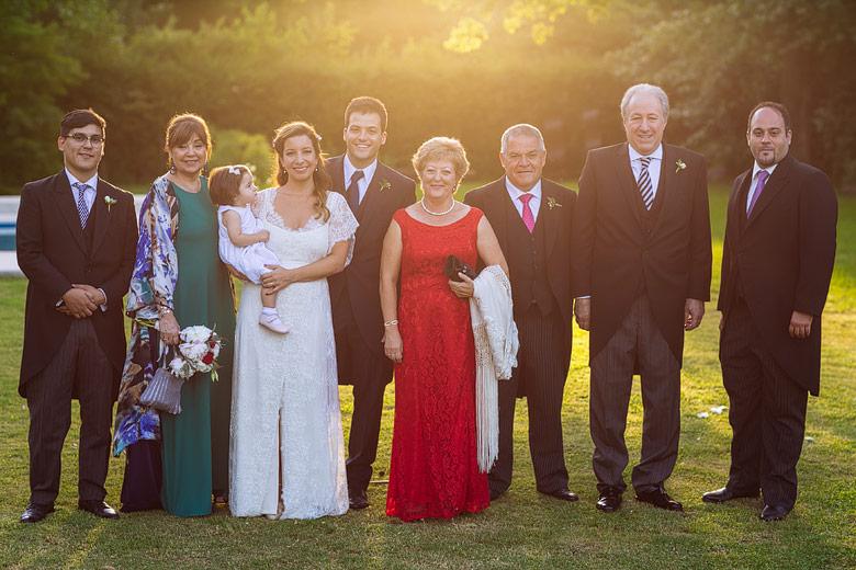 fotos familiares de casamiento