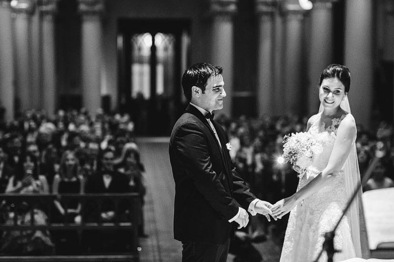 foto natural de casamiento