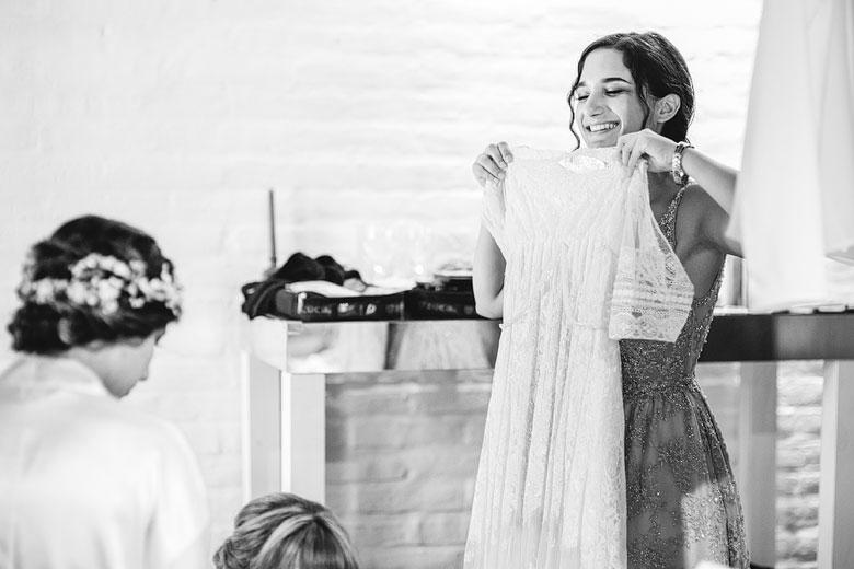 vestido de novia margarita garello