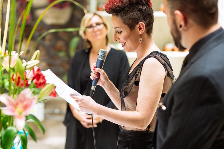 ceremonia de casamiento alternativa