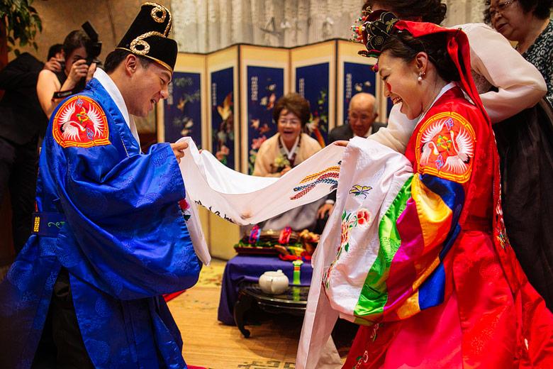 ceremonia tradicional boda coreana