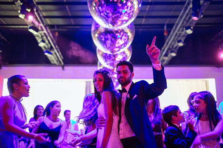 fotografia de bodas sin flash