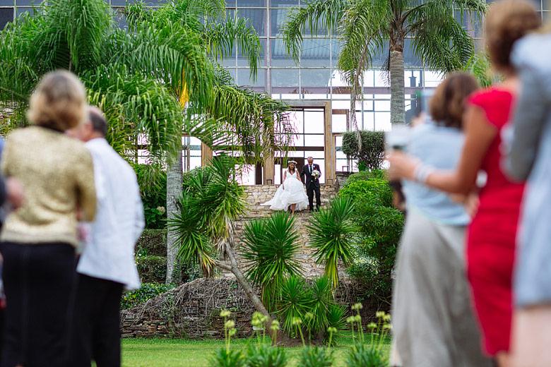 ceremonia de boda en la chacra, punta del este