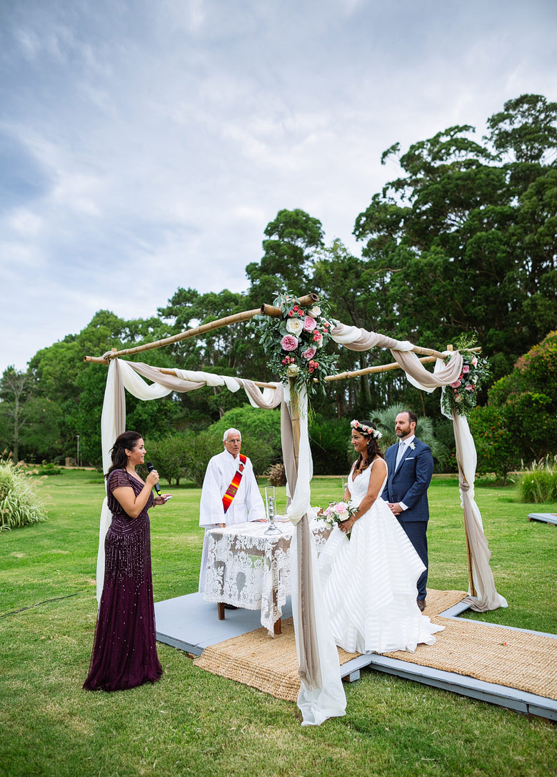 ceremonia de casamiento de dia en punta del este