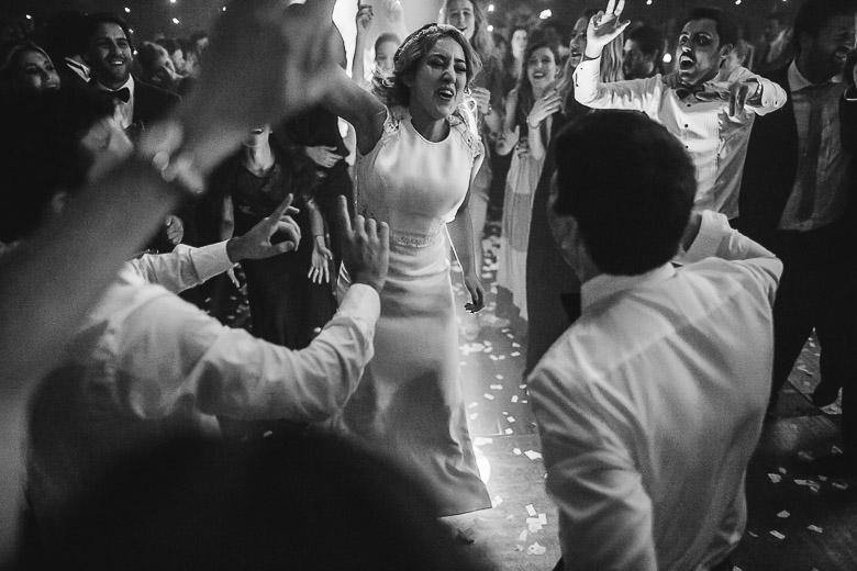 fotos casuales de casamiento sin posar