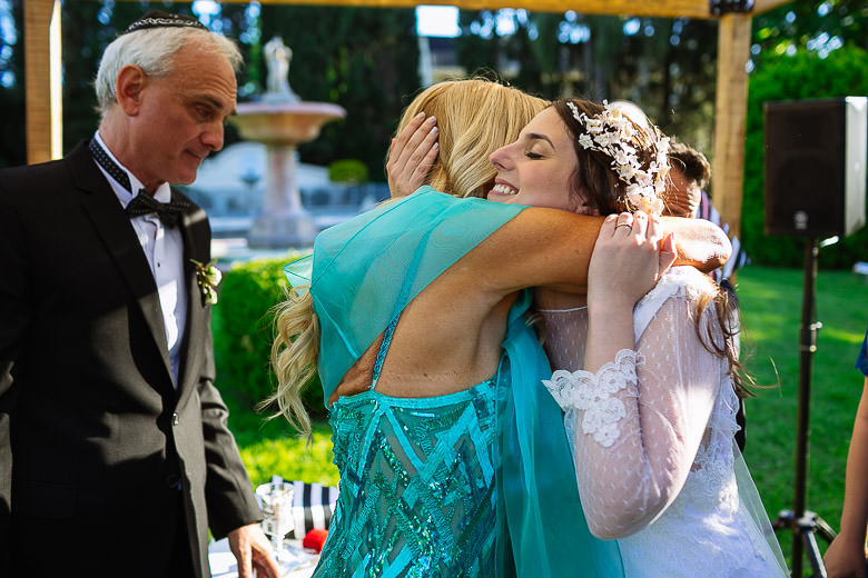 foto emotiva casamiento judio