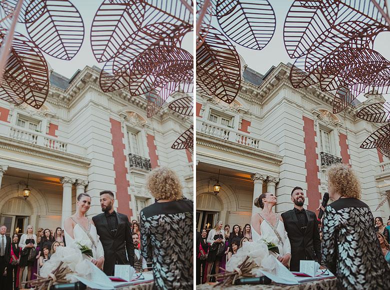 ceremonia diferente de casamiento