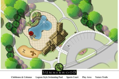Summerwood Amenity Park rendering