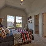 Hepton secondary bedroom with walk-in closet